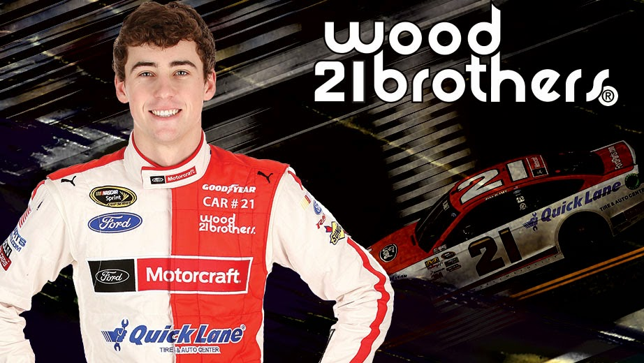 Wood Brothers Racing = Ryan Blaney