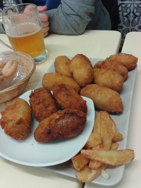 Surtido de croquetas- Café bar Mega
