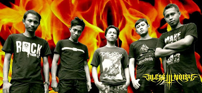Bless'in Noisy Band Metalcore Purwokerto - Jawa Tengah Foto Wallpaper