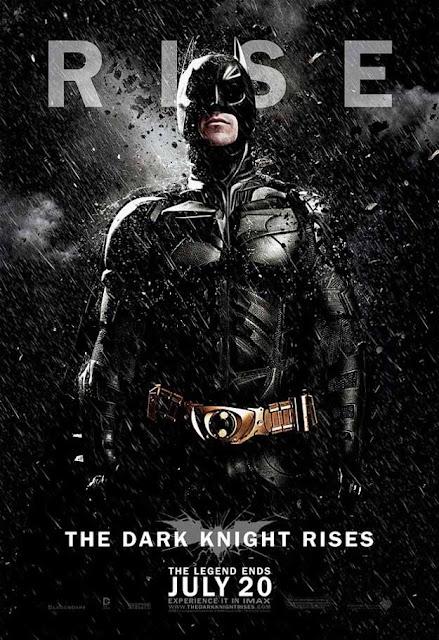 dark knight rises, batman, christian bale, movie poster