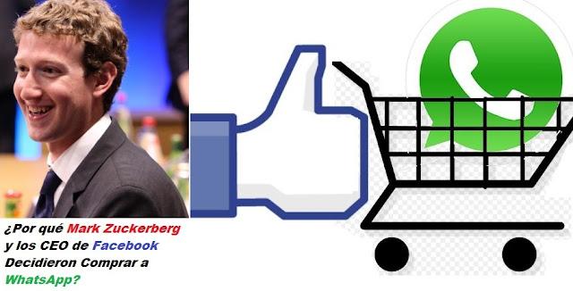 Por Qué Facebook Compró WhatsApp