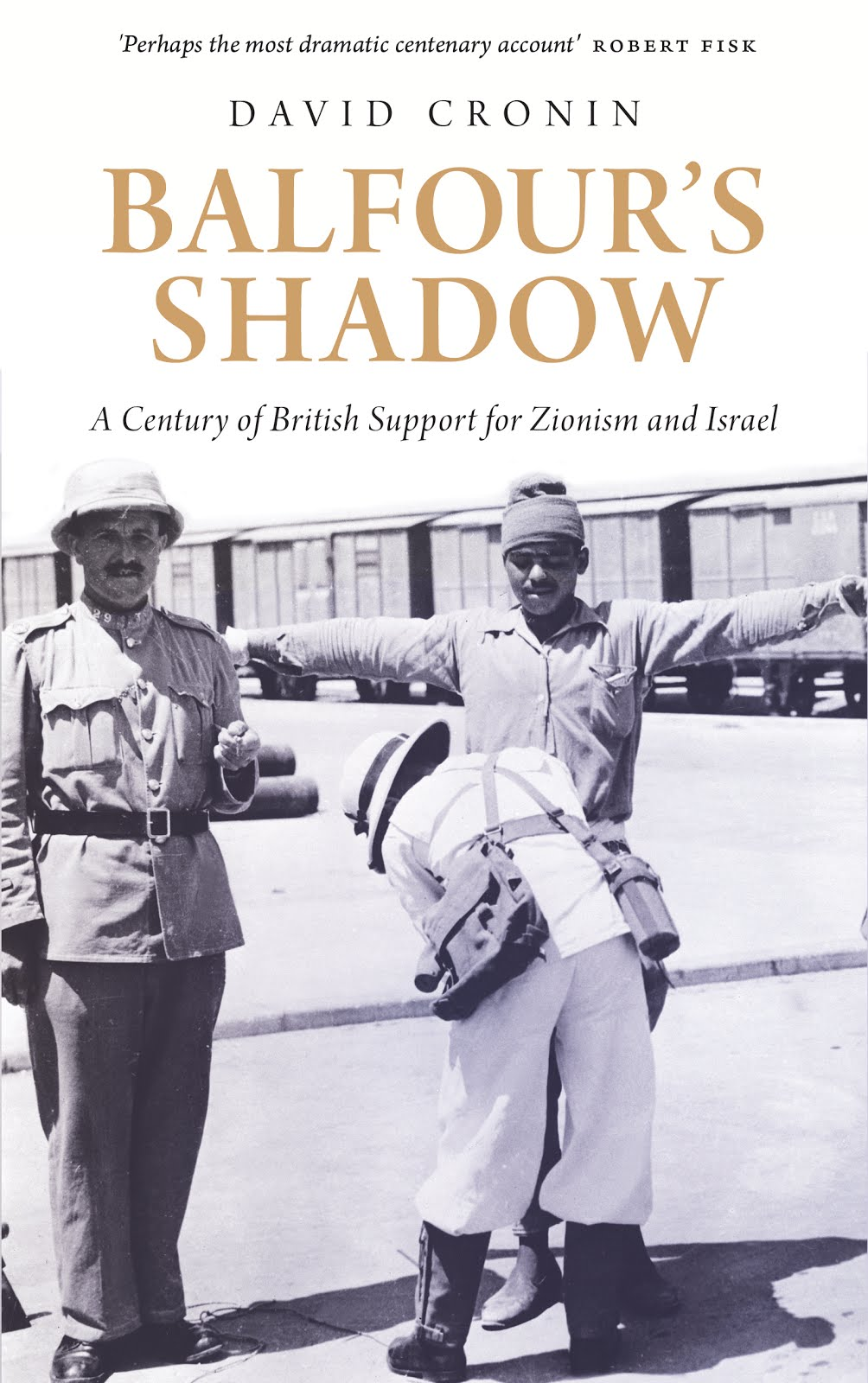 My new book 'Balfour's Shadow'