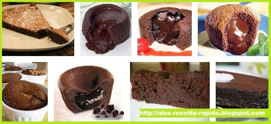 pr parer fondant au chocolat rapidement recette facile fondant au chocolat plat rapide et. Black Bedroom Furniture Sets. Home Design Ideas