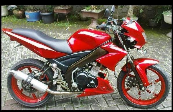 Modifikasi Motor Yamaha Vixion 2014 title=