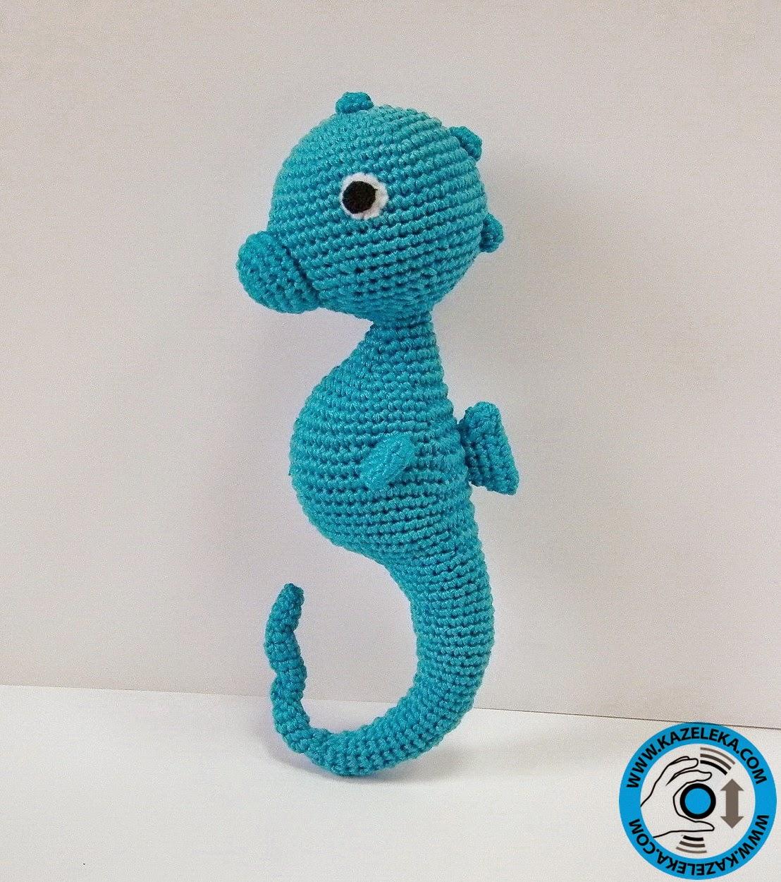 игрушка морской конек