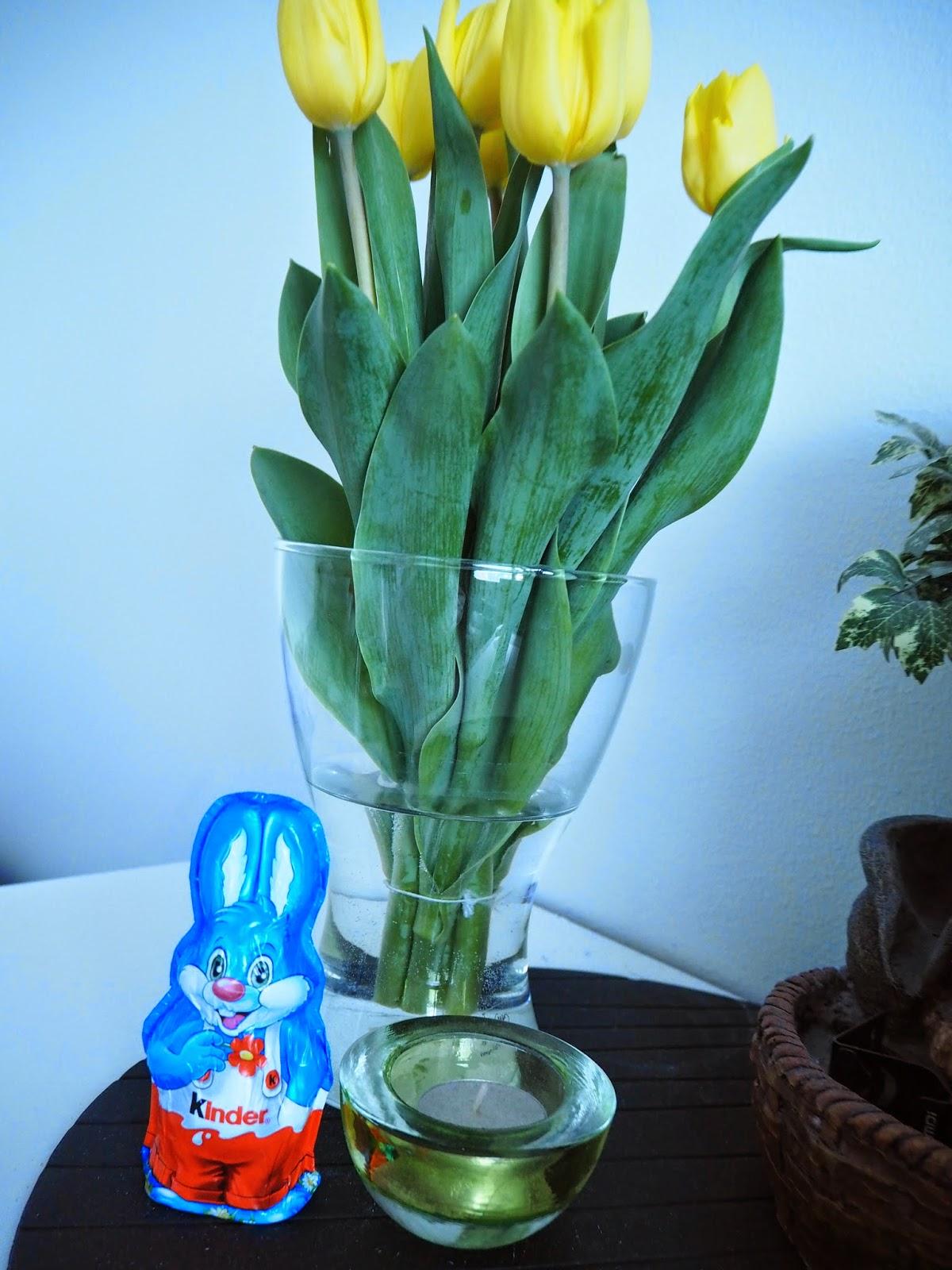 pääsiäinen, easter, tulip, tulips, birds, tiput, suklaa, chocolate, pupu, pääsiäispupu, kinder,