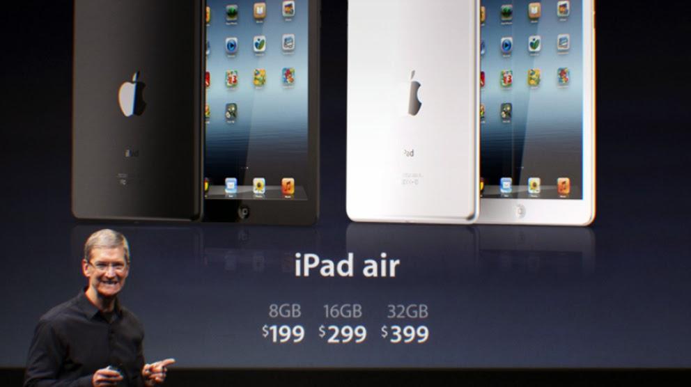 Lo que Ofrece iPad Air