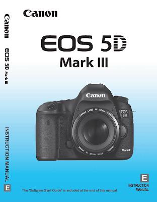 Copertina del manuale d'uso della EOS 5D Mark III