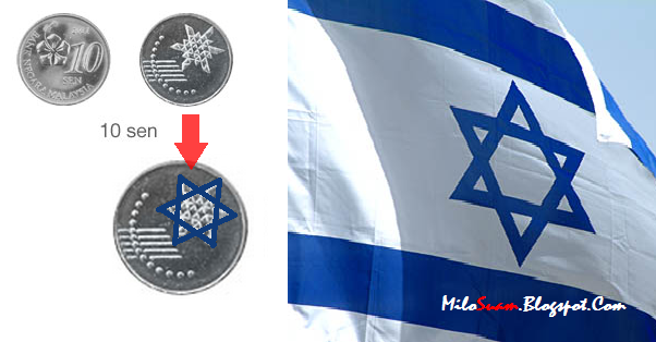 Panas! Bendera Israel dalam syiling baru Malaysia
