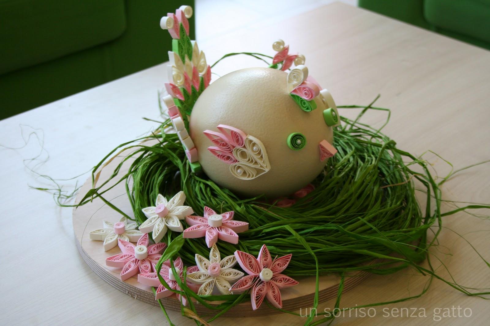 Un sorriso senza gatto decorazioni pasqua e primavera - Decorazioni per pasqua ...