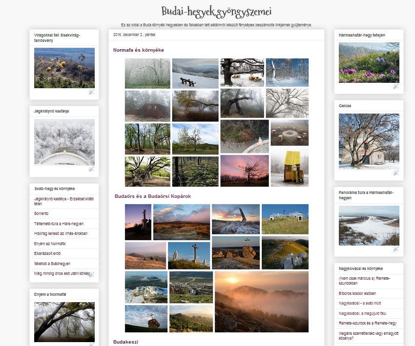 Budai-hegyek gyöngyszemei