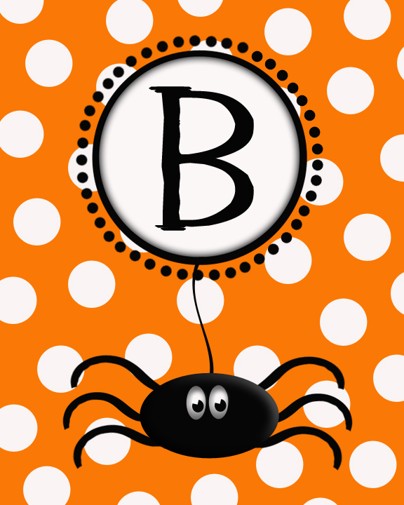 photograph regarding Printable Halloween Banners known as Printable BOO Banner - Darling Doodles