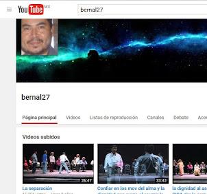 CANAL DE VIDEOS BERNAL27