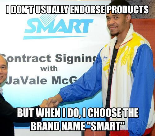 Javale McGee on smart