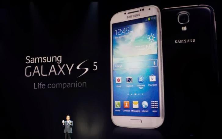 Galaxy S5 Resmi Diluncurkan
