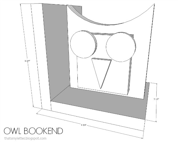 diy owl bookends free plans