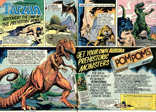 Tarzan Discovers the Land of the Prehistoric Animals ad