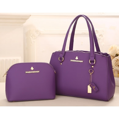 AAA WITH JESSICA MINKOFF LOGO (PURPLE)