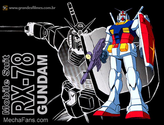 RX-78 Gundam, do anime Mobile Suit Gundam