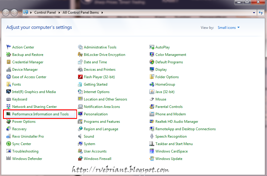 Cara mendapatkan rating windows experience index R rating for windows