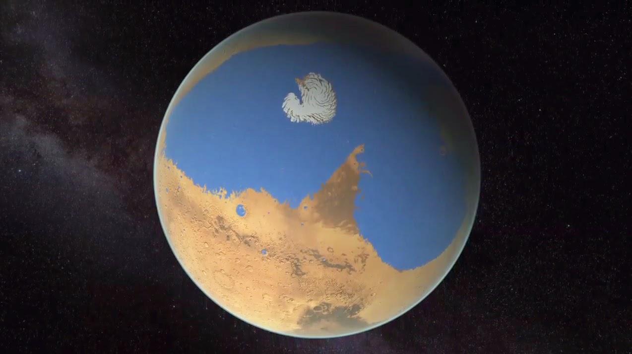 Mars's Ocean