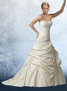 Vestidos de Novia Strapless, parte 3