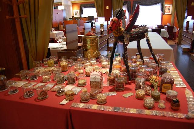 Exposición de alubias de todo el mundo en el Fronton de Tolosa