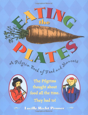 http://www.amazon.com/Eating-Plates-Lucille-Recht-Penner/dp/0689815417