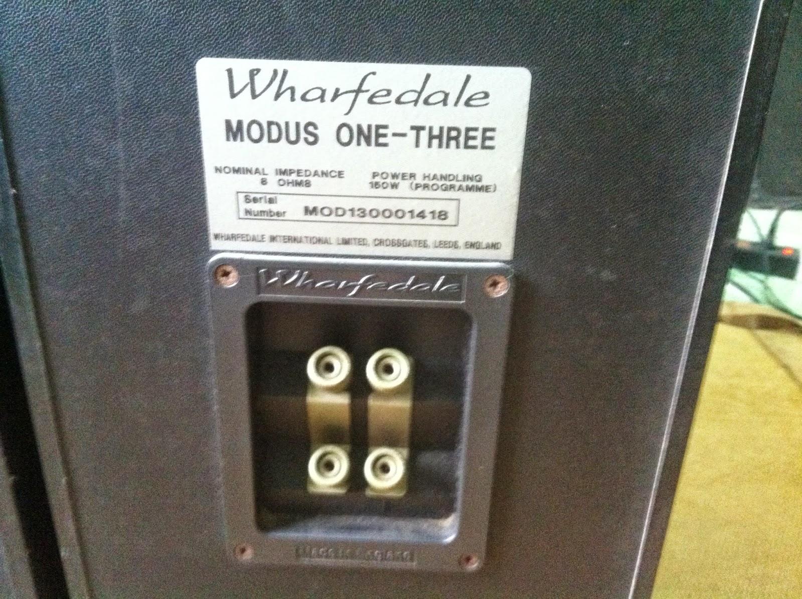Cận cảnh cầu loa Whafedale modus one three