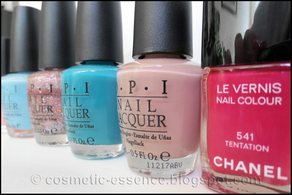 NARS, OPI & Chanel nail polish 3