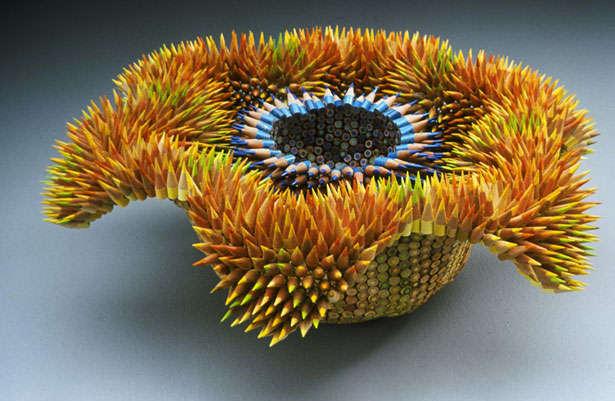 Amazing Pencil Flower Design