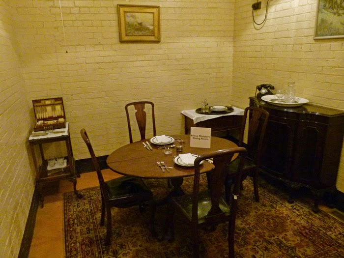 War Rooms, Dining Room, Churchill, Second World War, bit about Britain