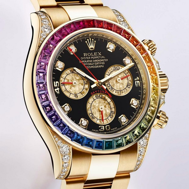 Rolex Unveils The Fabulous Daytona Rainbow Indonesian Passions For
