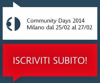 Community Days 2014