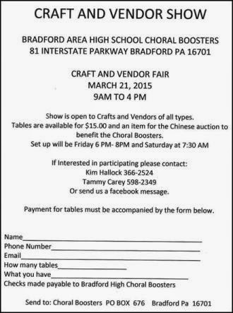 3-21 Craft & Vendor Show, Bradford