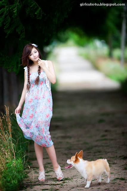 Ryu-Ji-Hye-Flower-Dress-07-very cute asian girl-girlcute4u.blogspot.com