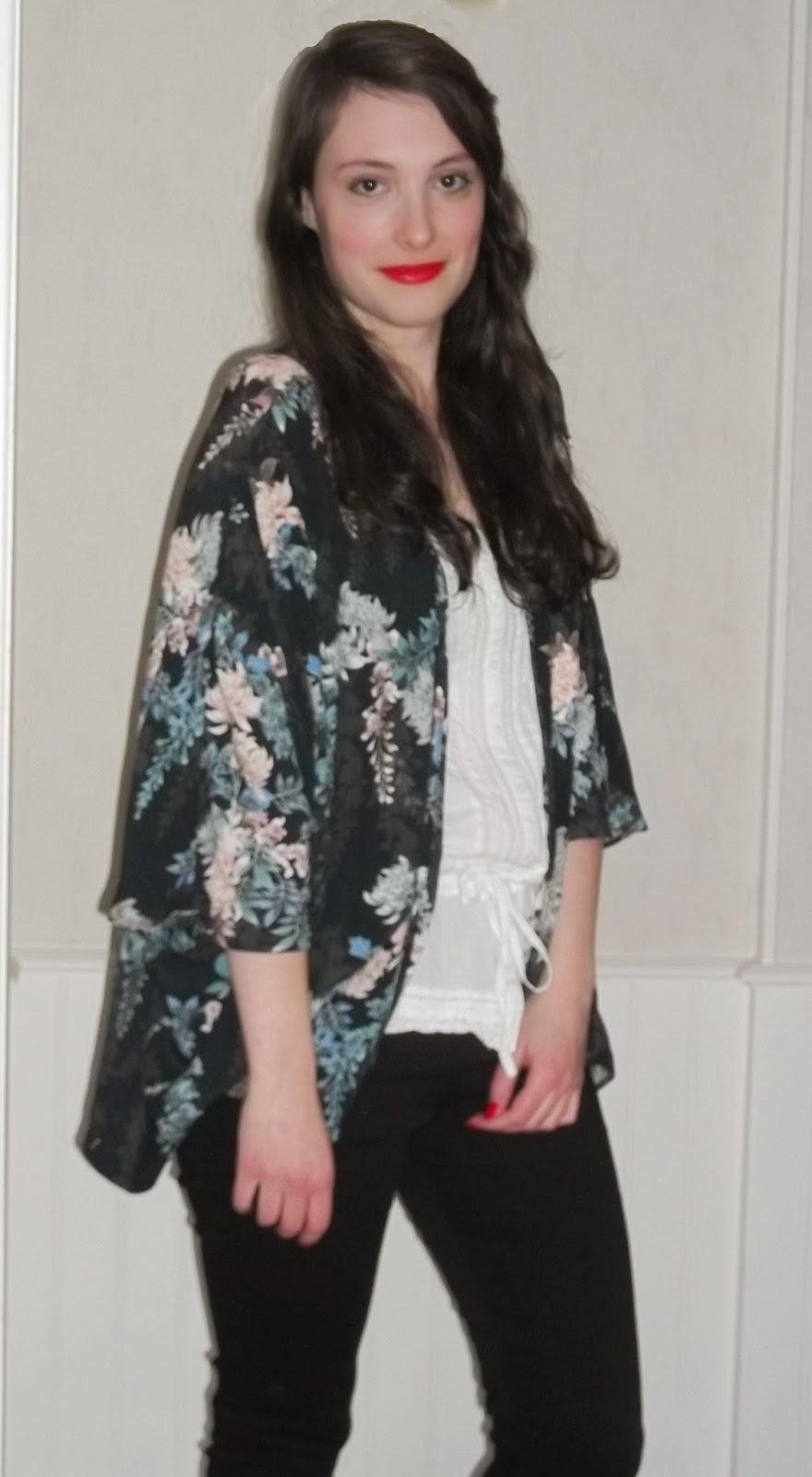 Get ready with me : Saint Valentin entre amis GRWM tenue kimono
