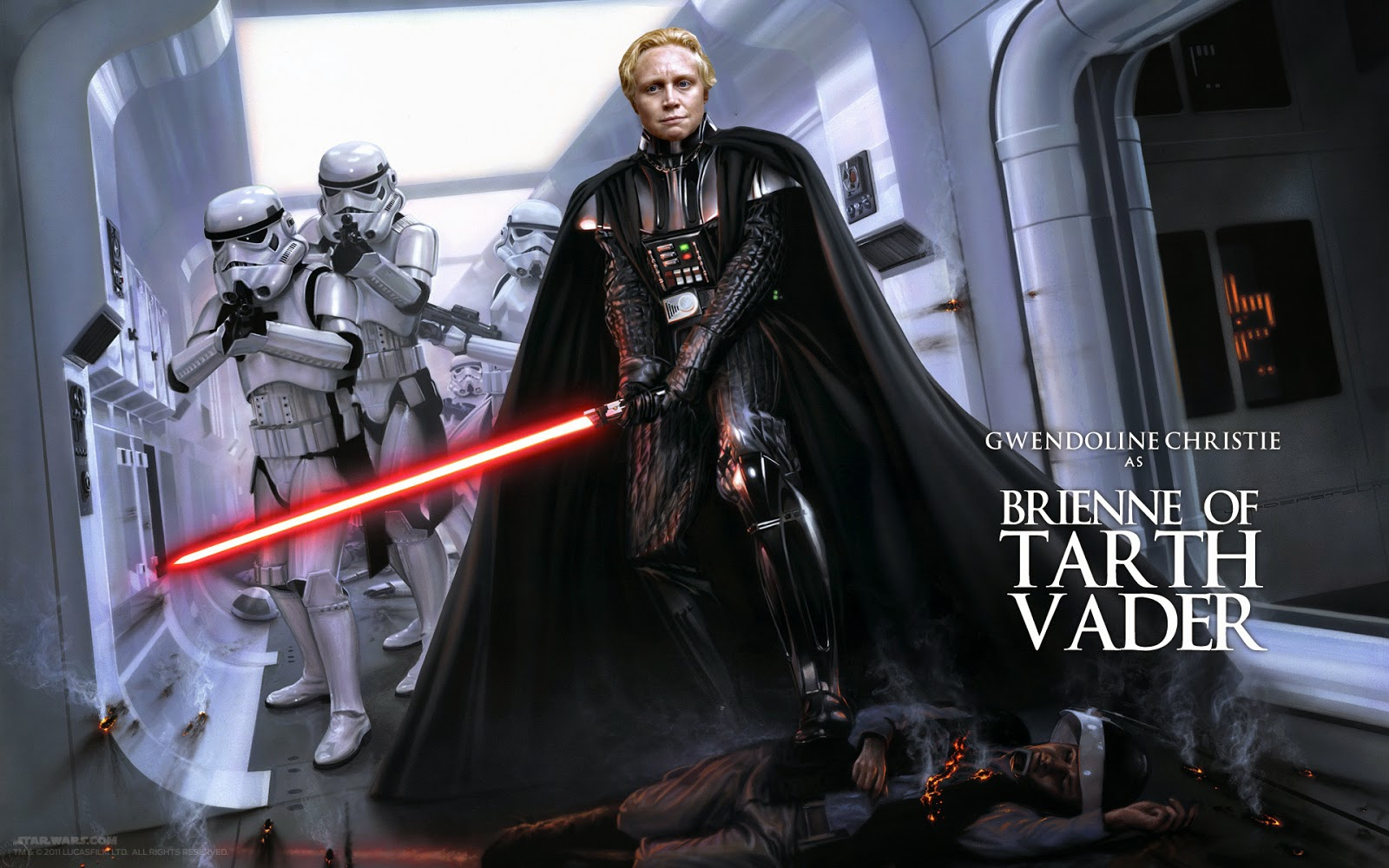 gwendoline+christie+captain+phasma