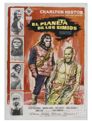 archives of the apes planet of the apes 1968