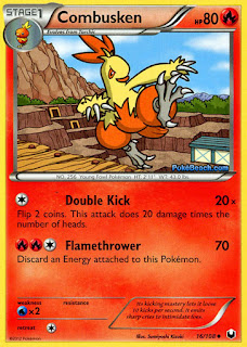 Combusken Dark Explorers Pokemon Card