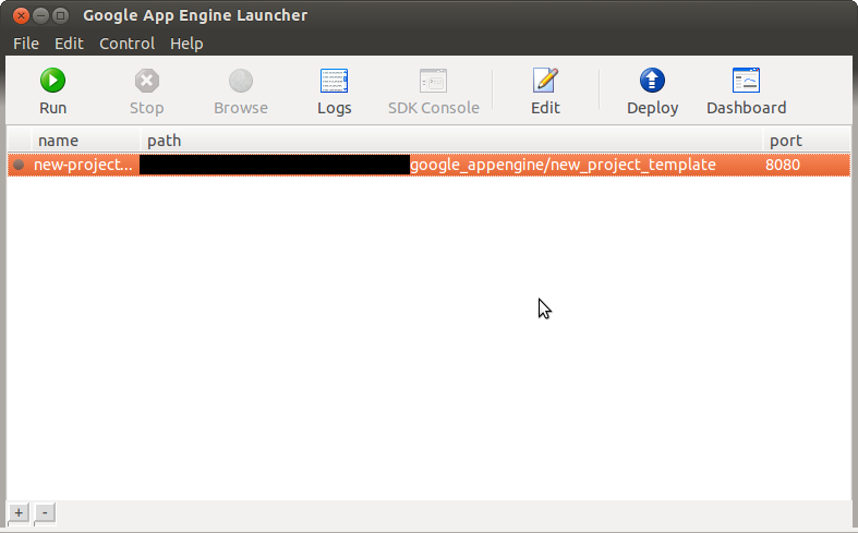 I Found This Useful: Google App Engine Launcher on Ubuntu