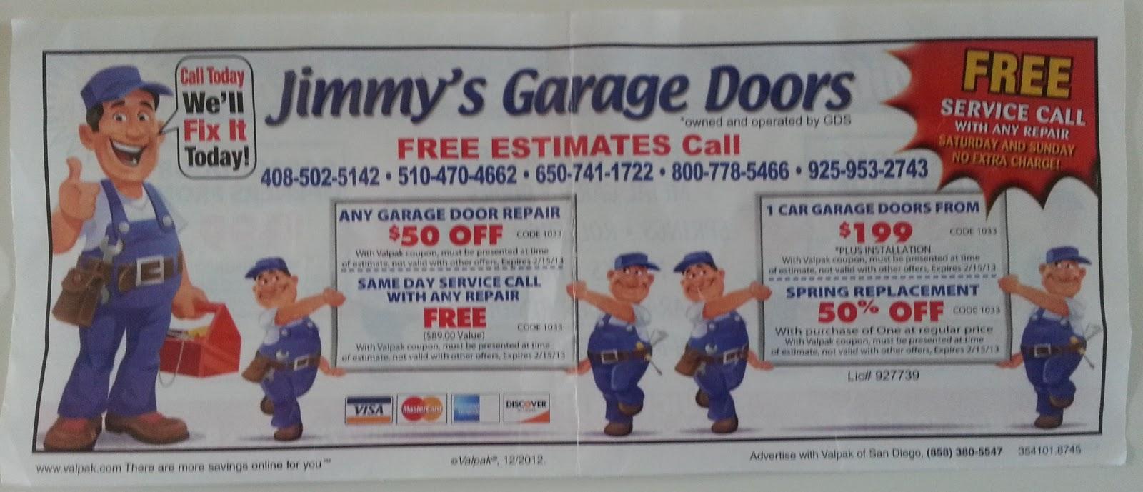 Garage Door Opener Fix Bait Coupons