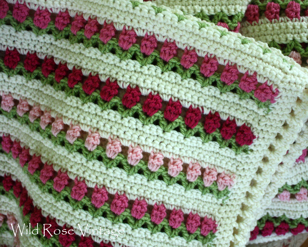 Crocheting End Of Row : brought out a crochet project that I started 2 years ago and Im ...
