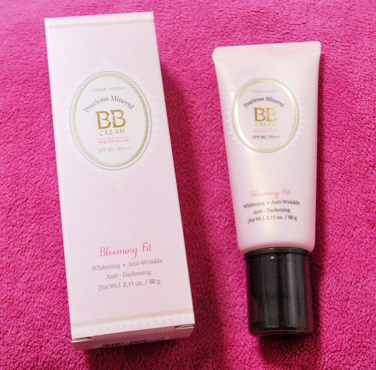 Peachy Pink Sisters: Review : Etude House Precious Mineral BB Cream ...