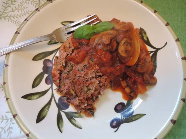 Tuscan Meatloaf With Mushroom Sauce Recipe — Dishmaps