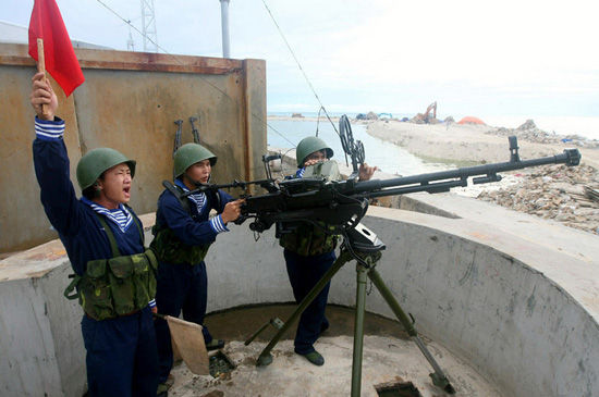 Vietnam live-fire exercises picture