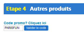 PARISFUN Code Promo