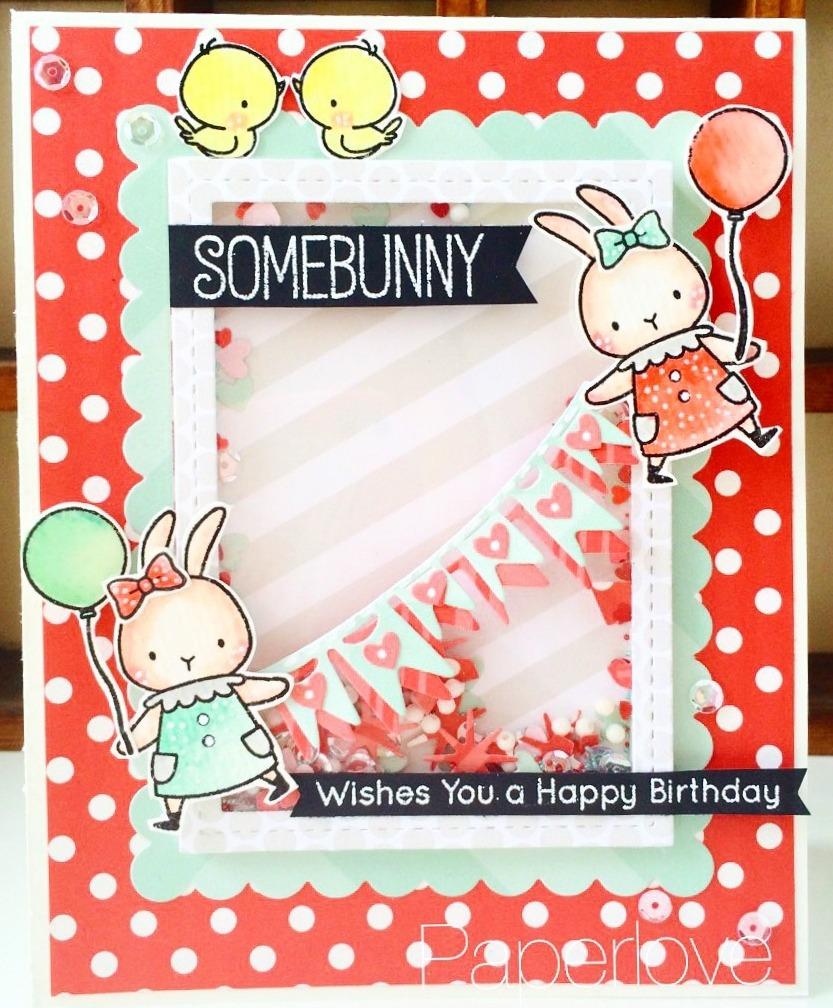 Somebunny Wishes You A Happy Birthday Yenni Paper Love
