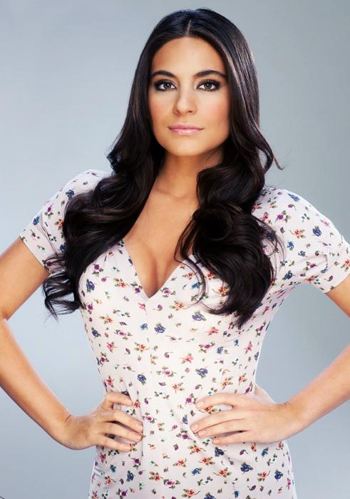Ana Brenda Contreras en su personaje de Maricruz de la telenovela
