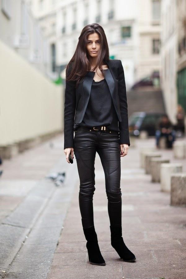 Total black looks